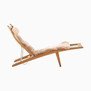 Model JH-524 Lounge Chair by Hans J. Wegner for Johannes Hansen, Denmark, 1958
