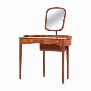 Model Birgitta Vanity Lady's Desk by Carl Malmsten for Bodafor, Sweden, 1960s