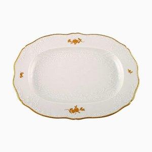 Large Meissen Serving Dish in Porcelain