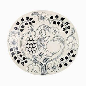 Large Paratiisi Dish in Porcelain by Birger Kaipiainen for Arabia