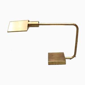 Mid-Century Italian Brass Desk Lamp, 1950s