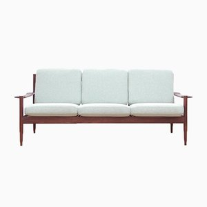 Mid-Century Modern Scandinavian Sofa in Teak, 1960s
