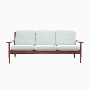Skandinavisches Mid-Century Modern Sofa aus Teak, 1960er