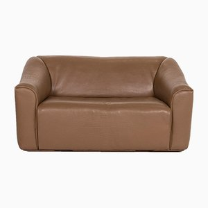 Brown Leather DS 47 2-Seat Sofa from de Sede