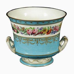 Vaso in porcellana e oro di Sèvres, Francia, XVIII secolo