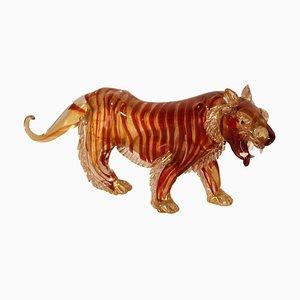 Tigre in vetro, anni '80