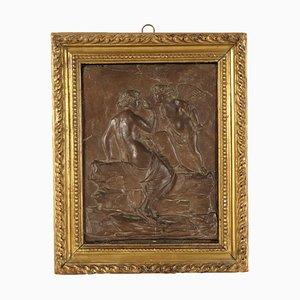 Bassorilievo raffigurante Venere in vetro neoclassico, Italia, fine XVIII secolo