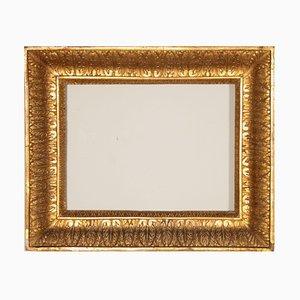 Italienischer vergoldeter Rahmen aus spätem 18. Jahrhundert
