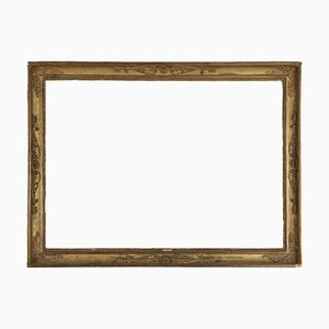 19th Century Italian Gilded Wood Frame