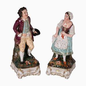 Perfume Holder Figurines, Set of 2