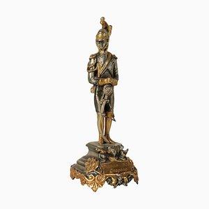Figurina argentata di F.lli Ranzoni