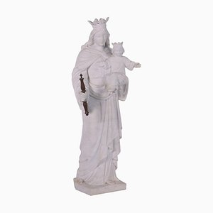 Marble Maria Sculpture