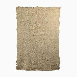Vintage Shaggy Wool Rug