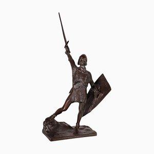 Alberto da Giussano Sculpture by Enrico Butti