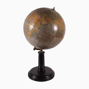 Earth Globe from Girard et Barrère Paris