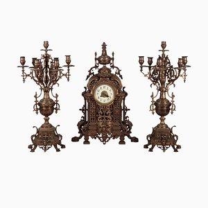Triptych Clock