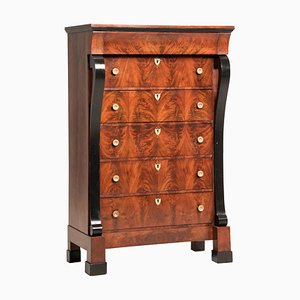 Early-19th Century French Mahogany Chest of Drawers