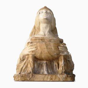Antique Ofrenda Sculpture by Lambert Escaler, 1900s
