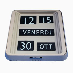 Orologio Dator 10 di Gino Valle per Solari Udine, anni '60