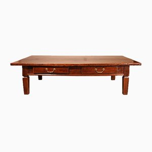 Large Antique Coffee Table, 19th-Century