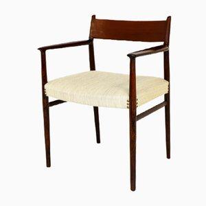 Sedia da scrivania nr. 418 in palissandro di Arne Vodder per Sibast, anni '60