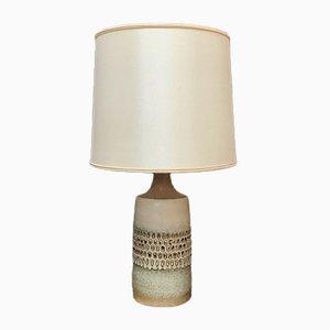 Dänische Keramik Tischlampe von Søholm Stoneware, 1960er