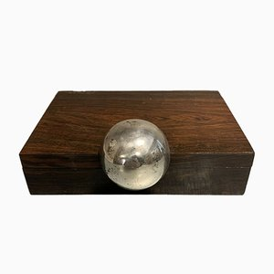 Silver Jewelry Box from Berro, 1950s