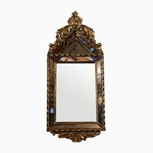 Napoleon III Pyramidal Gilt Wood Mirror