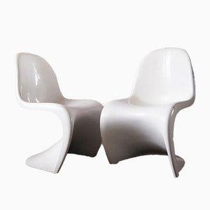 Panton Esszimmerstühle von Verner Panton für Herman Miller, 1971, 2er Set