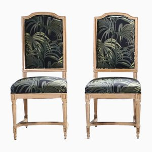 Louis XV Style Dining Chairs, 1950s, Set of 2