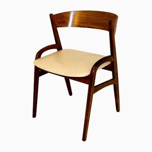 Rosewood Dining Chairs, 1960s, Set of 6