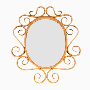 Specchio antico di Michael Thonet per Gebrüder Thonet Vienna GmbH