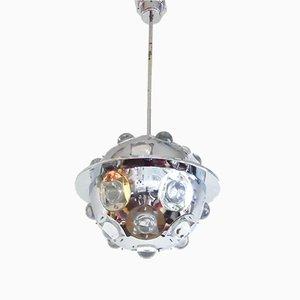 Lámpara de techo Sputnik con asteroides de Oscar Torlasco para Lumi, Milano, años 60