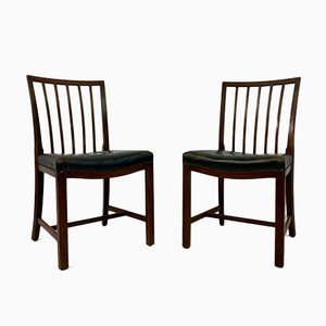 Danish Dining Chairs by Frits Henningsen, 1930s, Set of 8