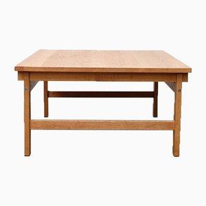 Tavolino in quercia di Hans J. Wegner per Andreas Tuck, anni '60