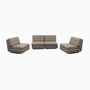 Mid-Century Modular Sofa from Mobilier International