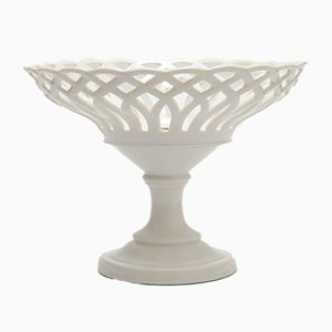 Tazza in porcellana bianca Open-Work di Porcelain de Paris