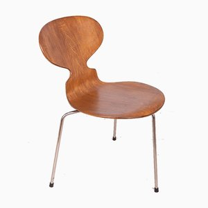 Sedia da pranzo Ant di Arne Jacobsen per Fritz Hansen, anni '50