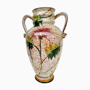Ceramic Vase by Giulio Pagliarini, 1940s