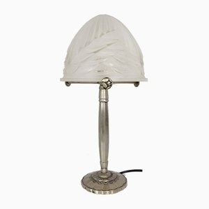 French Art Deco Table Lamp by Charles Schneider for Schneider, 1920s