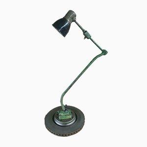 Industrial Machine Lamp Green on Brake Disc