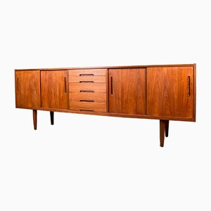 Swedish Teak Model Gigant Sideboard by Nils Jonsson Hugo Troeds, 1960s