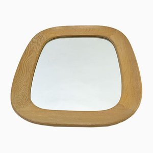 Swedish Oak Mirror from Fröske, 1950s