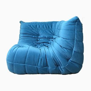 Blue Togo Corner Sofa by Michel Ducaroy for Ligne Roset