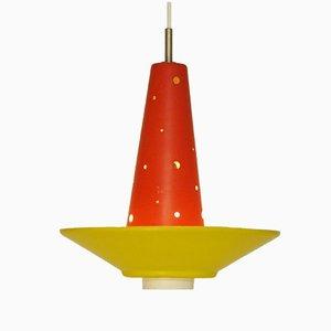 Lampe à Suspension Modèle 4046 de Anvia Almelo, 1950s