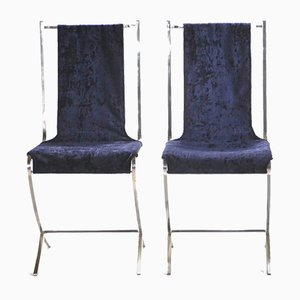 Side Chairs by Pierre Cardin for Maison Jansen, 1970s, Set of 2