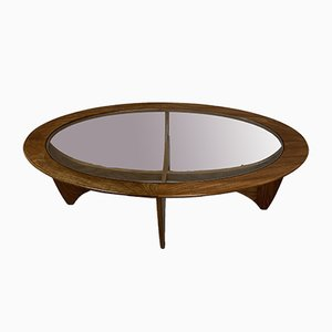 Vintage Glass Coffee Table by Victor Wilkins for G-Plan