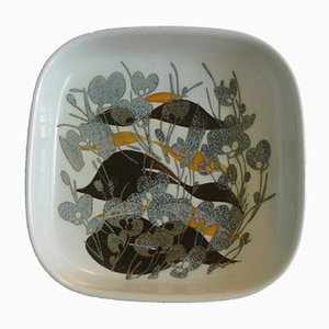 Bol Baca en Céramique avec Motif Floral par Ivan Weiss pour Royal Copenhagen, Danemark, 1960s
