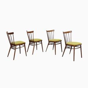 Esszimmerstühle von Antonín Šuman für TON, 1960er, 4er Set