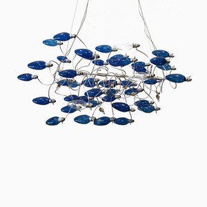 Vintage Fish-Shaped Suspension Lamp